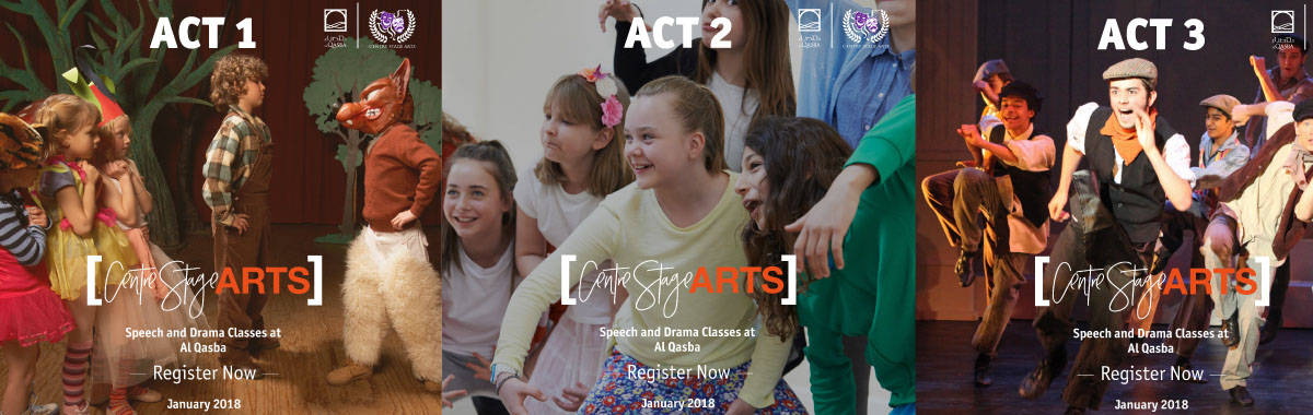 Unleash your talent and be a star at Al Qasba Drama Classes